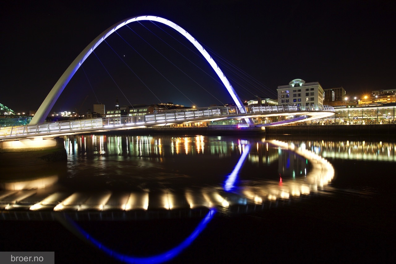 photo of Gateshead Millennium Bridge
