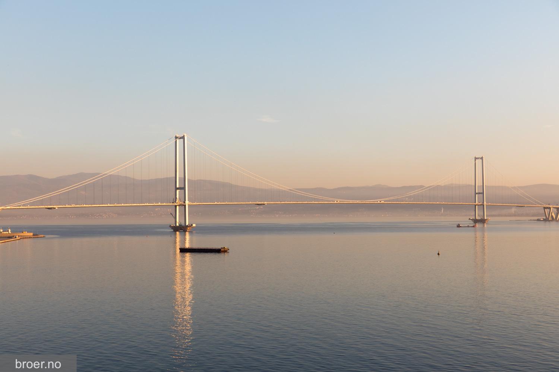 photo of Osman Gazi Bridge