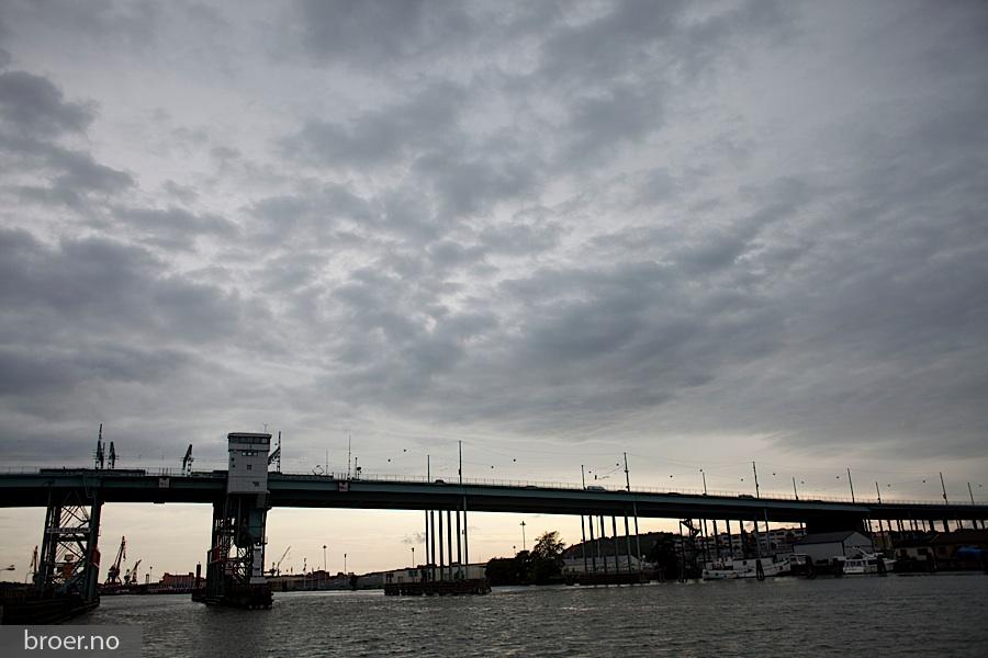 photo of Göta river bridge